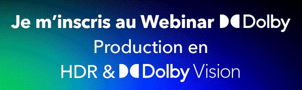 Webinar Dolby Vision